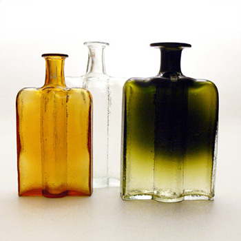 RAILLO bottles, Nanny Still (Rihimäki Lasi, 1973) - Art Glass