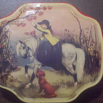 Horner Candy Tin - Advertising