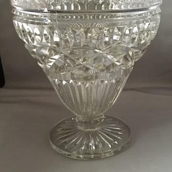 Glass centrepiece  - Glassware