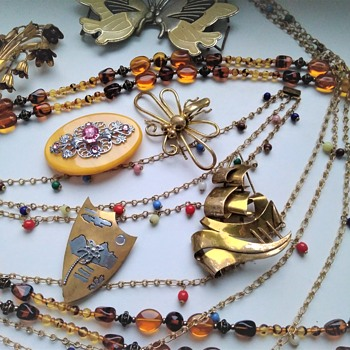 Czech jewelry lot - Costume Jewelry
