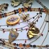 Czech jewelry lot