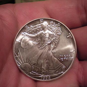 1994 silver dollar