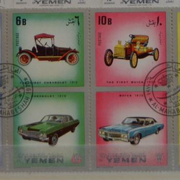 Yemen old cars serie