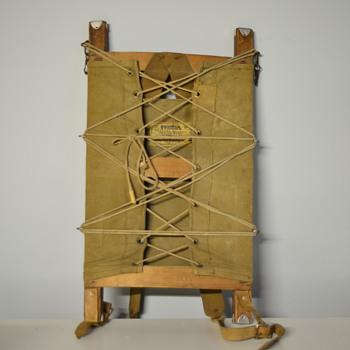 Vintage Pioneer Brand Trapper Nelson Indian Packboard N0.2