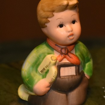 Little Boy Statue - Schmid? - Figurines