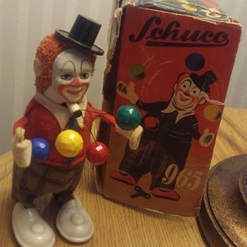 Schuco Clown Juggler - Toys