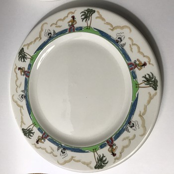 Pirate pattern Illinois Central Railroad China  - China and Dinnerware