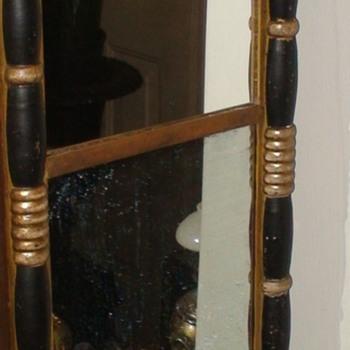 Small Antique Mirror - Furniture