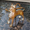 "Miniature repro of Seljak Lion Incense Burner ? 5.25"" X 5.25"""