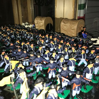 Old 1970s Timpo Cavalry - Toys