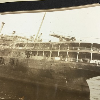 Original SS MORRO CASTLE 1934 BEACHED FROM FIRE CUBA/N.Y SHIP - Photographs