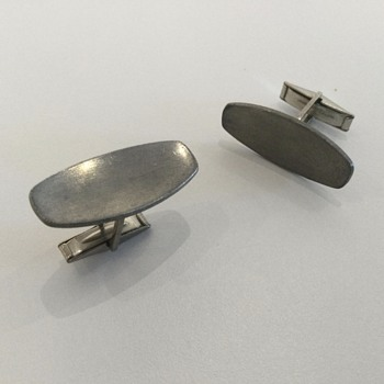 JORGEN JENSEN PEWTER CUFFLINKS - Accessories