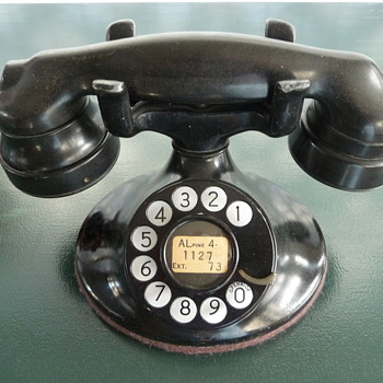 1936 Western Electric Model 202  - Telephones