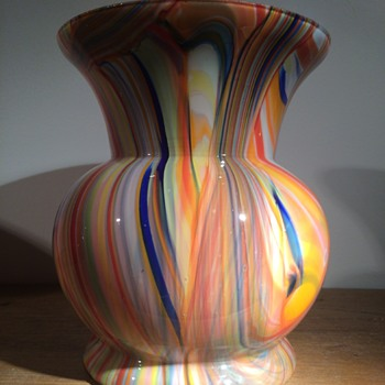 Czech Bohemian (Scailmont?) vase - Art Glass