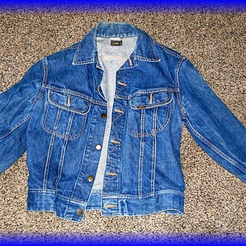 Vintage Canadian Tuxedo -- LEE Blue Jean Jacket ( Part I of II ) - Womens Clothing