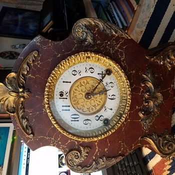 Gibson late 1800 or pre 1905 Mantel Clock