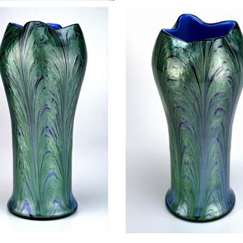 Loetz Carrageen Genre 2420 circa 1905 - Art Glass