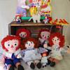 My Raggedy Ann & Andy Dolls