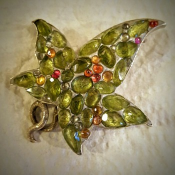 Damaged Scottish leaf brooch rebirth! - Fine Jewelry