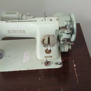 singer sewing machine passed down