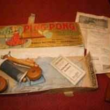 1902 parker brothers ping pong game.... - Games