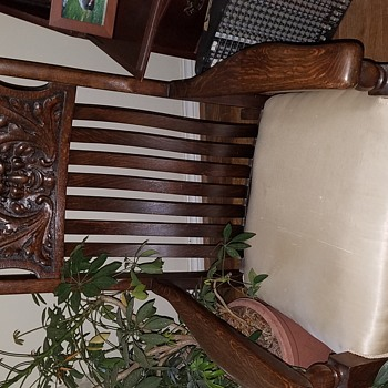 Old family chair