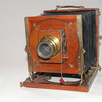 "Steward, J.H., ""Omni"" Field Camera, 1894."