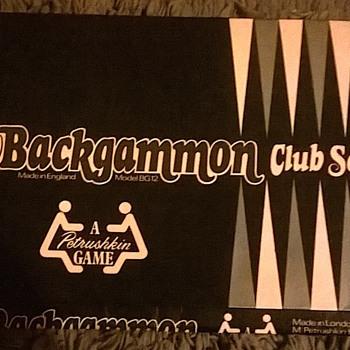 petrushkin backgammon club set