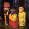 Folk Art Carved Wooden Rabbi?