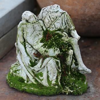 Mossy La Pieta - Fine Art