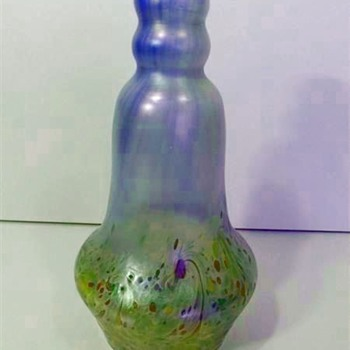 Poschinger Vase designed by Karl Schmoll von Eisenwerth c. 1900 - Art Glass
