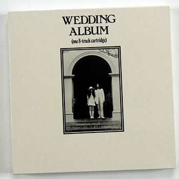 "John Lennon personally owned ""Wedding Album""-1969 - Music Memorabilia"
