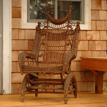 Wicker Rocker  - Furniture