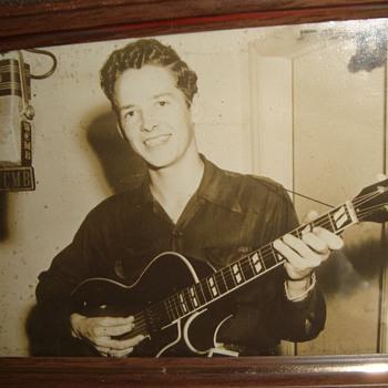 Country Singer Jimmie Shelton - Music Memorabilia