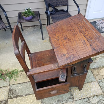 Antique desk - Furniture