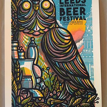 Leeds Beer Festival, by Drew Millward - Breweriana