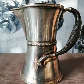 Antique Teapot  - Silver