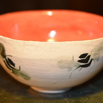Bee and Acorn Bowl - Pottery