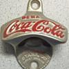 Spanish Starr Coca-Cola  Stationary Bottle Opener