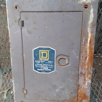 SQUARE D ELECTRIC fuse box (complete) - Electronics