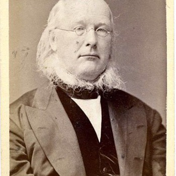 CDV of Horace Greeley c.1872 by Frank Pearsall - Photographs