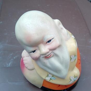 My Chinese old man money box - Asian