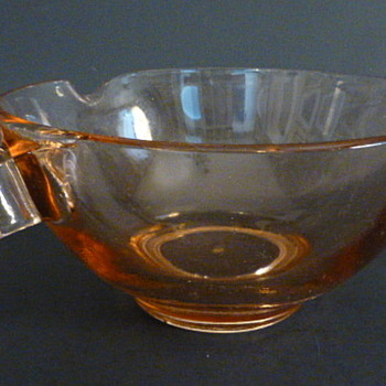 US Glass Co BATTER MIXING BOWL 1930s PINK Depression Glass - Glassware