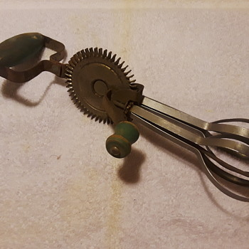 another old eggbeater to hang up in the kitchen - Kitchen