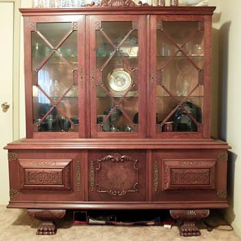 Help ID old hutch - Furniture
