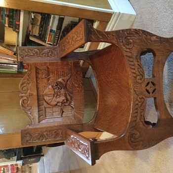 Pope chair - Furniture