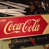 Coca cola sign