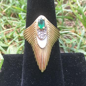 Vintage 14k Gold ERTE Ring