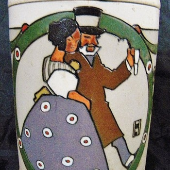 old beer stein - Breweriana