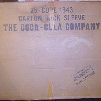 1960s Coca-Cola rack signs in original box  - Coca-Cola